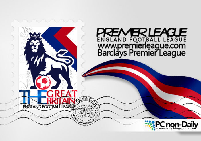 Premier League Logo + Stempel