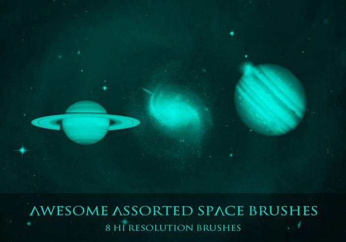 8 Nasa Space & Nebula Brushes