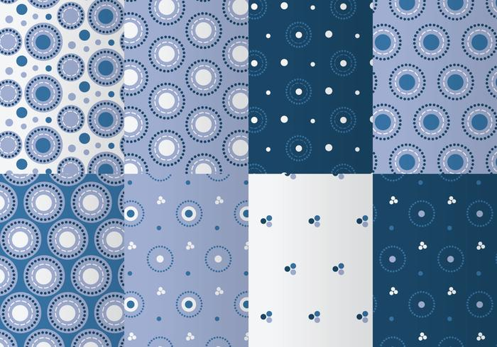 Cerclebleu Photoshop Pattern Pack