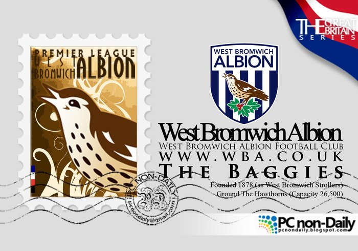 West Bromwich Albion Logo + Timbre