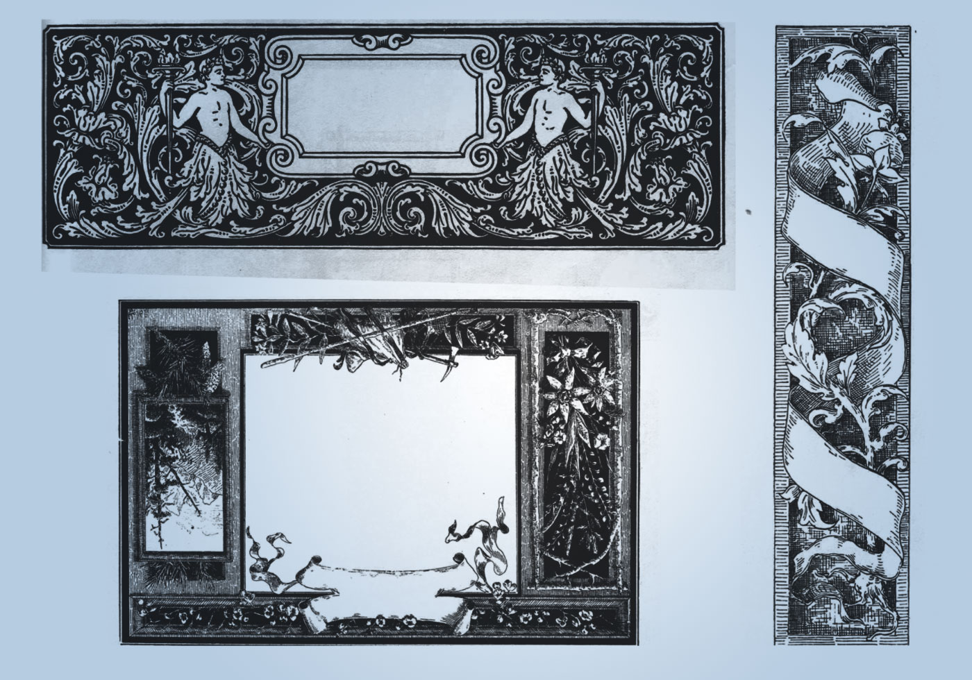 Excellent Ornate Borders - Free Photoshop Brushes at ...