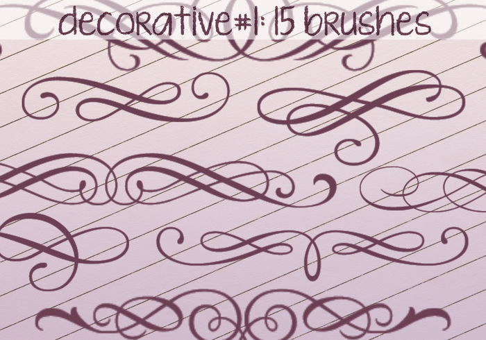 Decorative Brushes 1