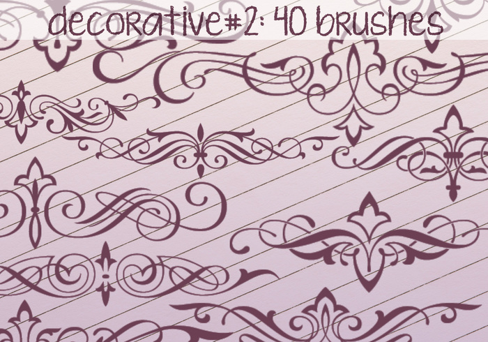 Decorative Brushes 2