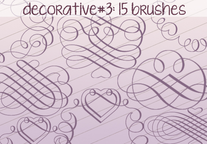 Decorative Brushes 3