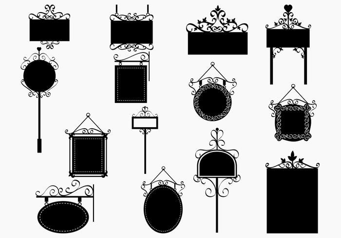 Ornate Signs Brush Pack