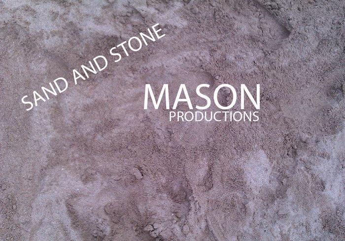 Zand en steen texturen