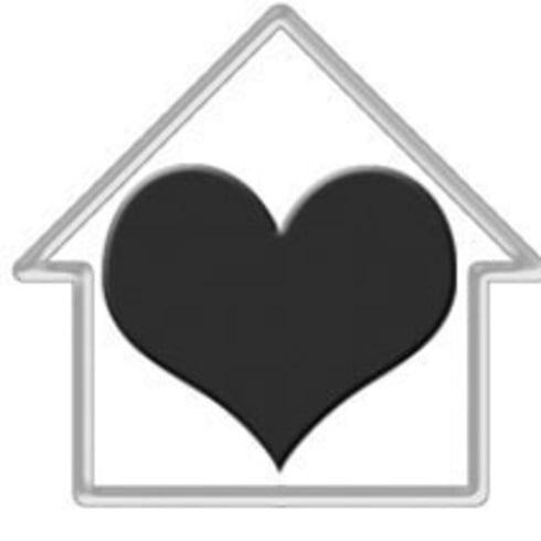 Cepillo de la casa del corazón