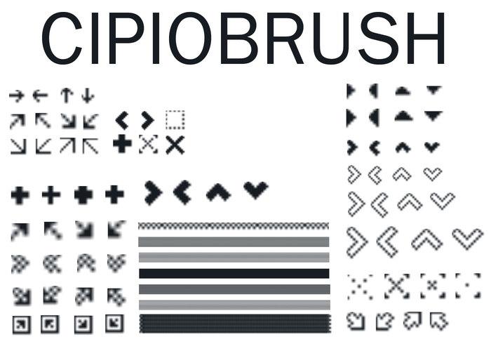 Cipiobrush kleine Pixel bruses