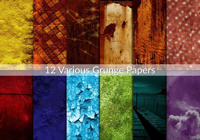 Olika Grunge Papers