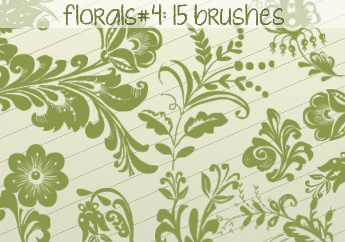 Floral Brushes 4
