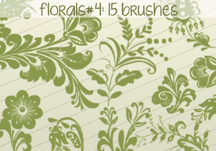 Escovas florais 4