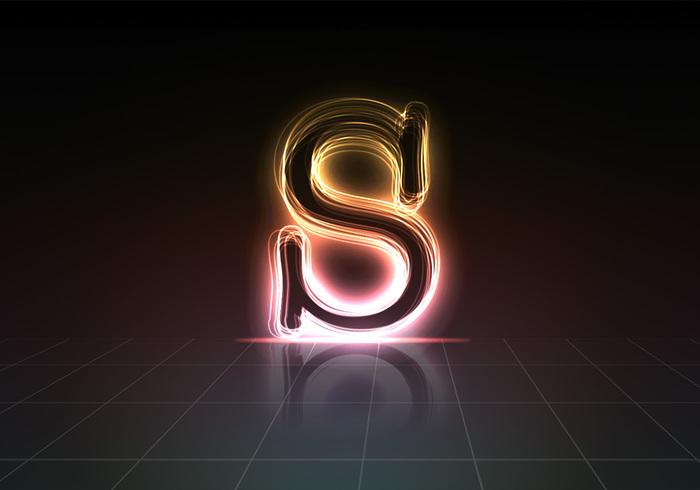 """Glödande """"S"""""""