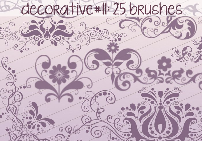 Decorative Brushes 11