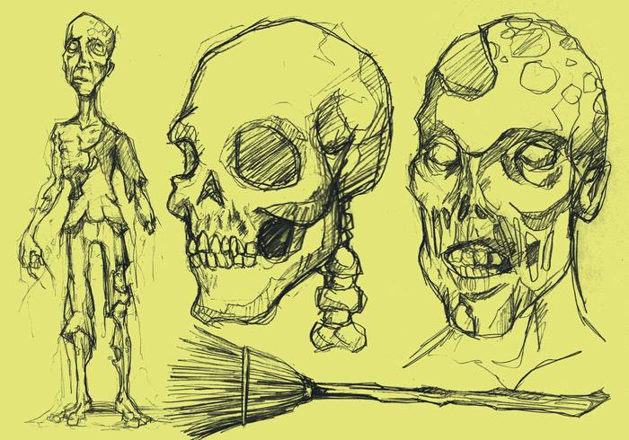 Ghoul/Halloween sketch brushes