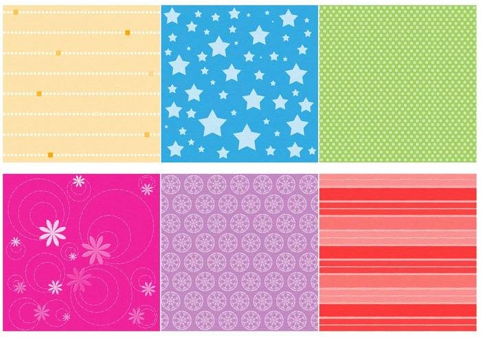 Scrapbook Papers Brushes Set 01