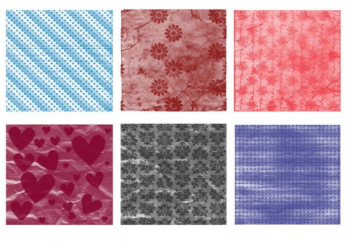 Scrapbook Papers Brushes Set 05