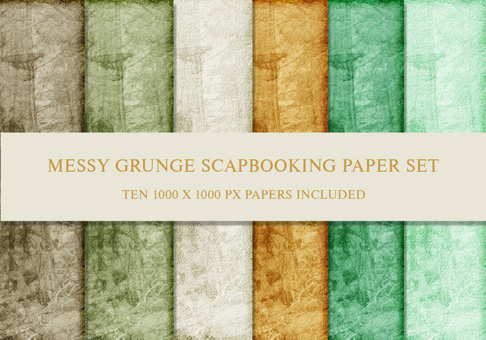Grunge Up In The Woods Papers