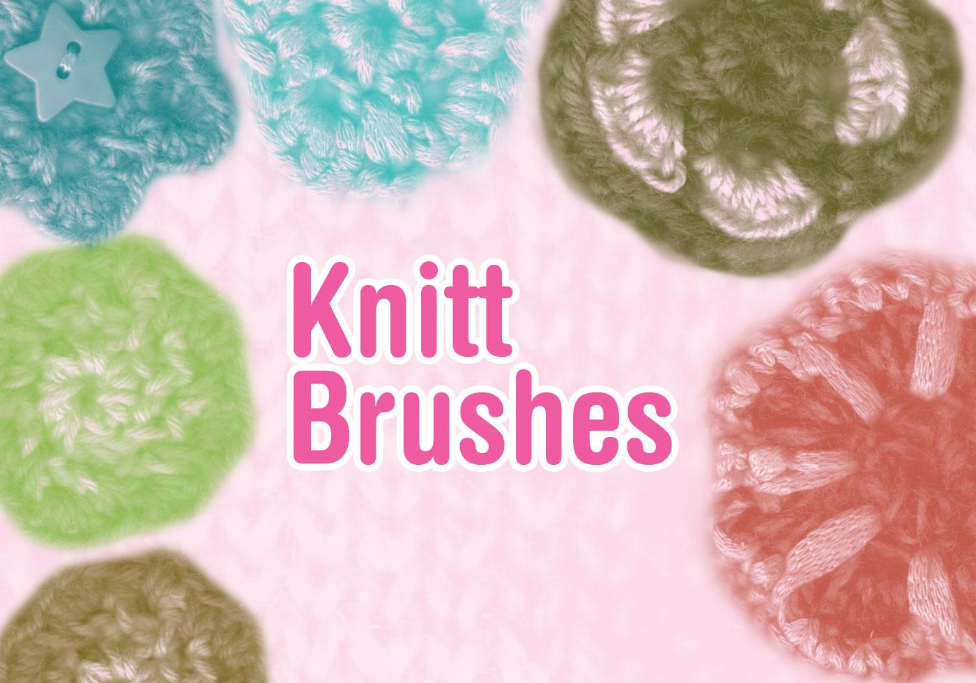 Knitt Brushes Free Photoshop Brushes At Brusheezy