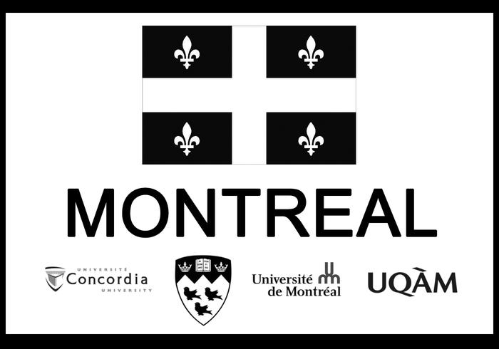 Pinceaux de ville de Montréal