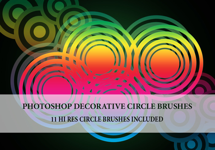 11 Large Circle Brushes