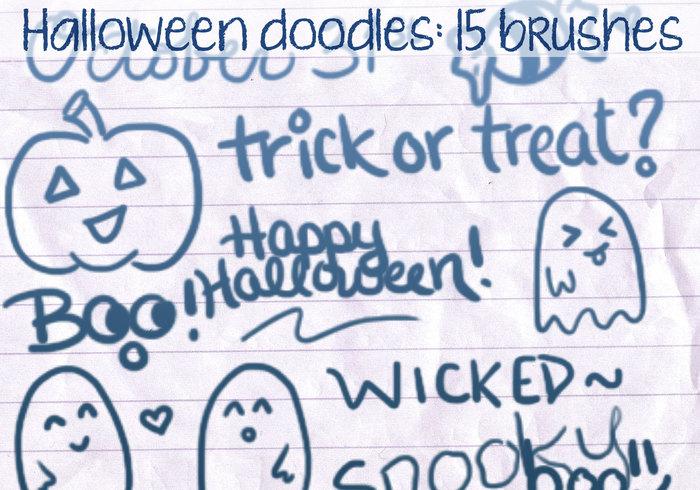 Halloween doodles