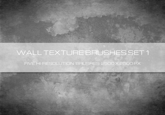 O Wall Texture Brushes Vol 1