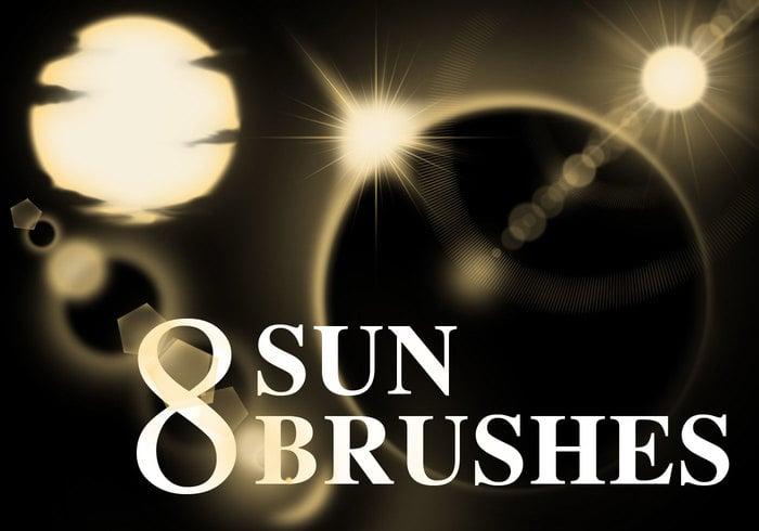 8 brosses de soleil