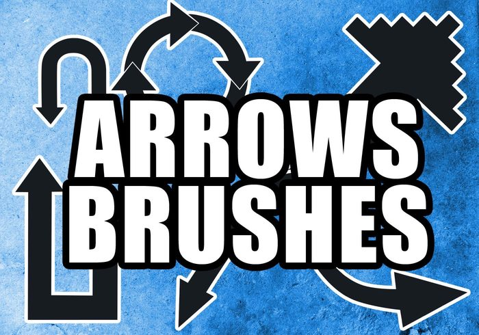 Arrows Brushes By XMarwanX