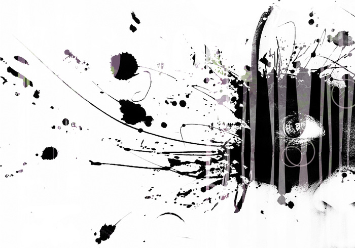 grunge texture splatter