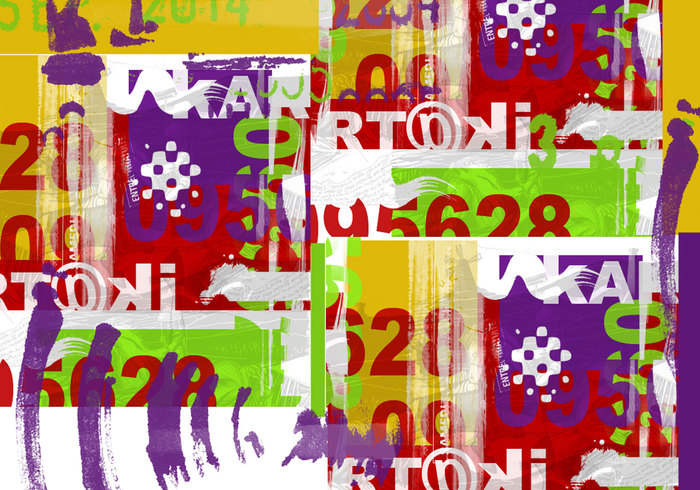 Grunge textura de color 0099