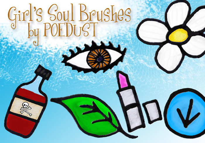 Girl's Soul Brushes von Poedust