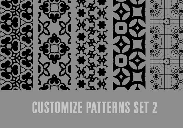 Personalizar el conjunto de patrones 2