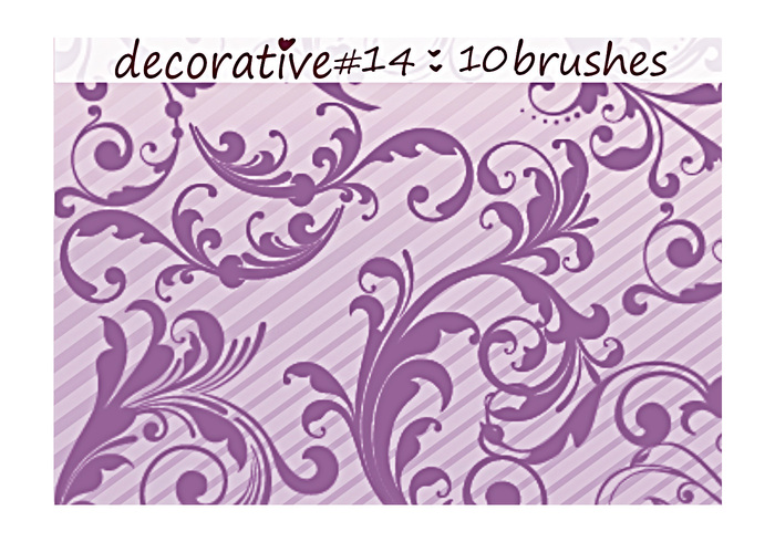 Decoratieve Borstels 14
