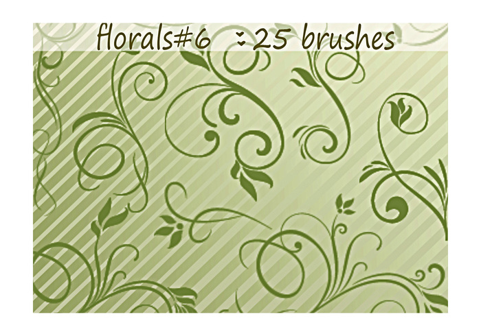 Floral Brushes 6