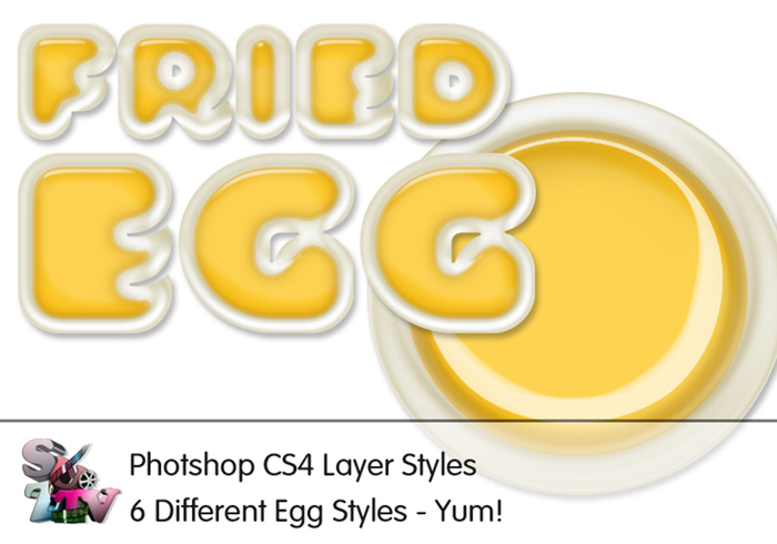 Fried Egg Photoshop Style