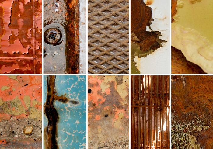 Rusty Metals Texture Pack