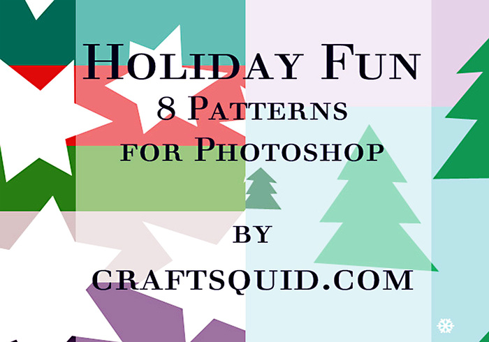8 Holiday Fun Patterns