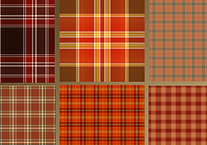 Patrones de tela escocesa