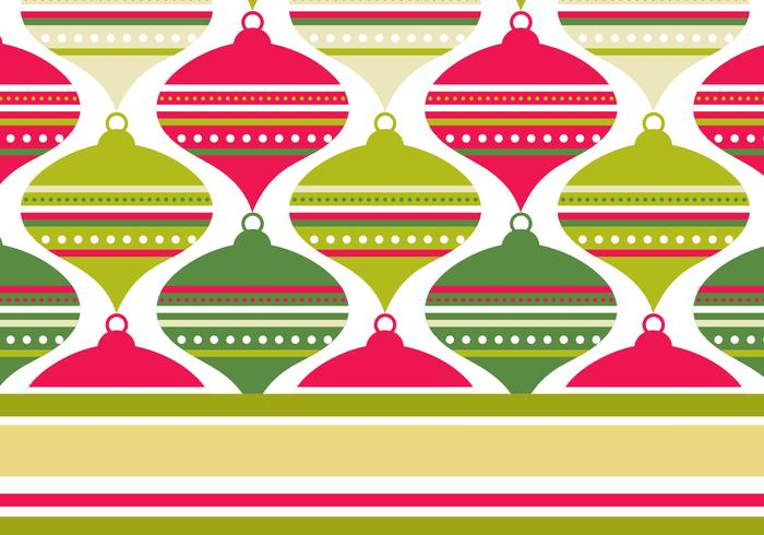 Retro Red & Green Photoshop Pattern & Wallpaper