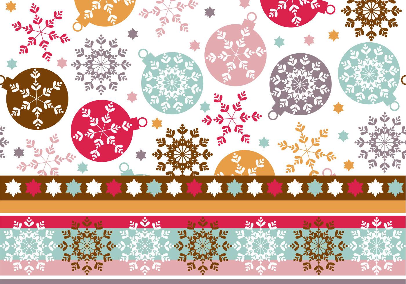 Schneeflocke-Verzierung Tapete u. Photoshop-Muster - Kostenlose ...