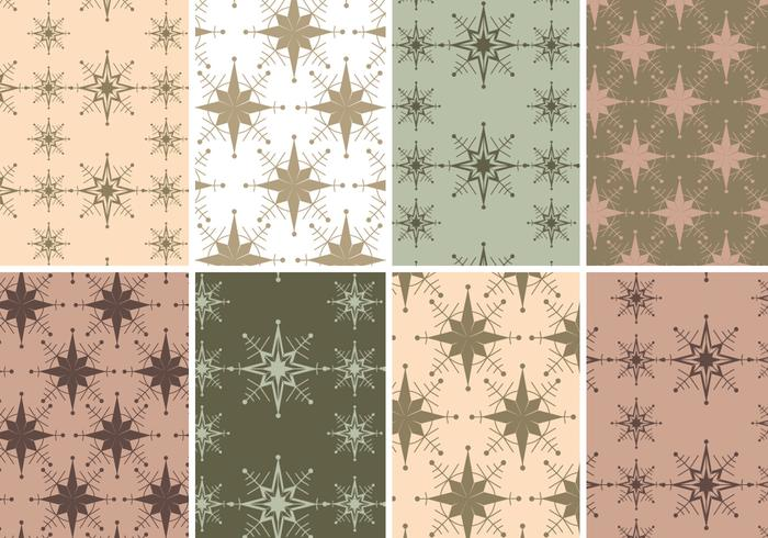Vintage Holiday Photoshop Patterns