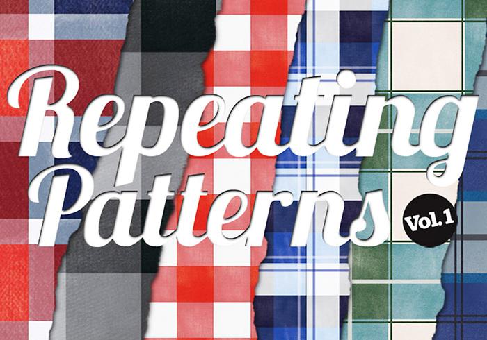 6 Muster Muster Nahtlose Texturen