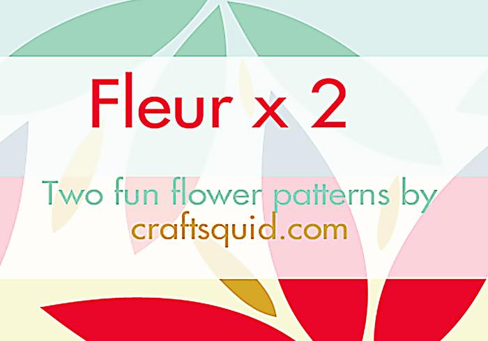 Modèles fleur x 2