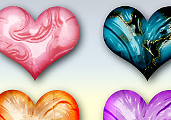 Styles Photoshop Gemstone sculptés