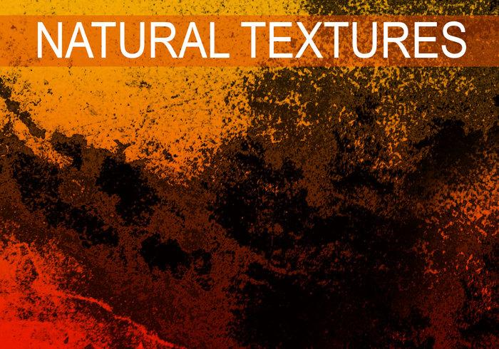 Escovas de textura natural