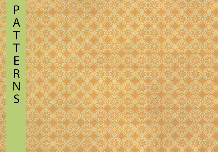 Goldenrod Ornamental Pattern