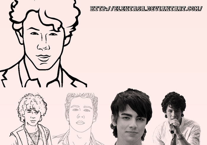 Pincéis Jonas Brothers