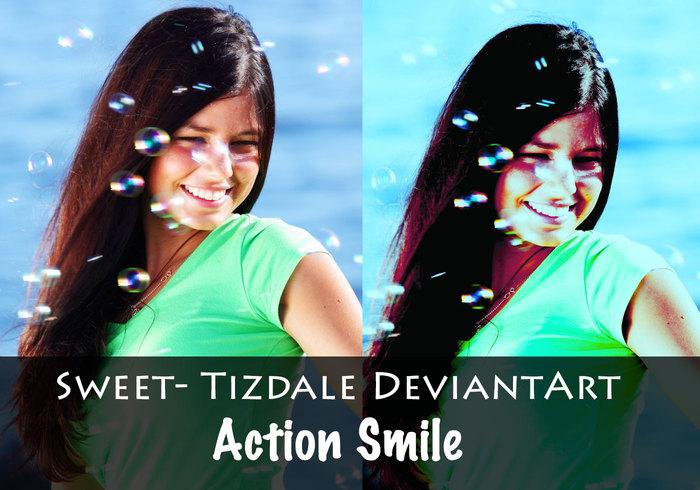 Acción sonrisa
