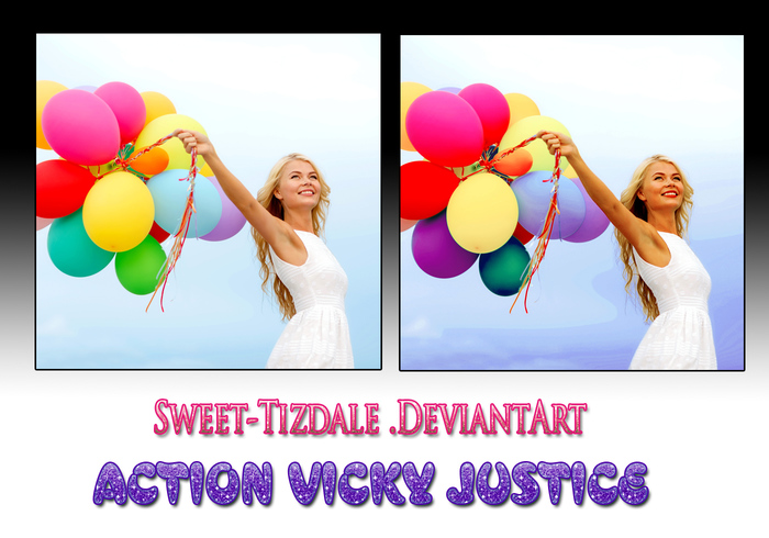 Action Vicky Justice