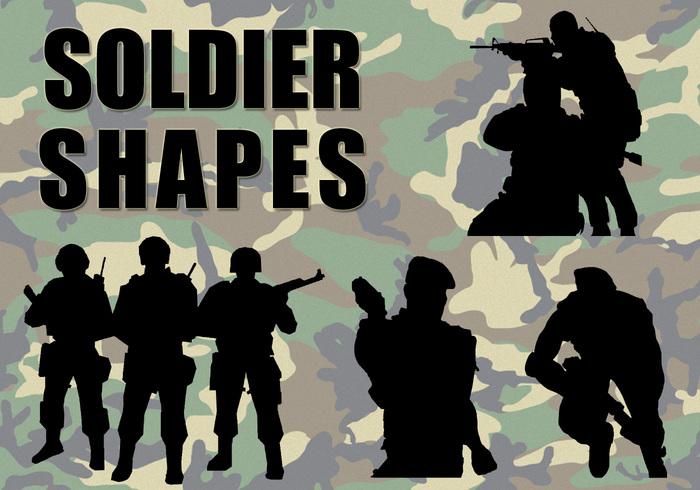 Pinceaux soldats